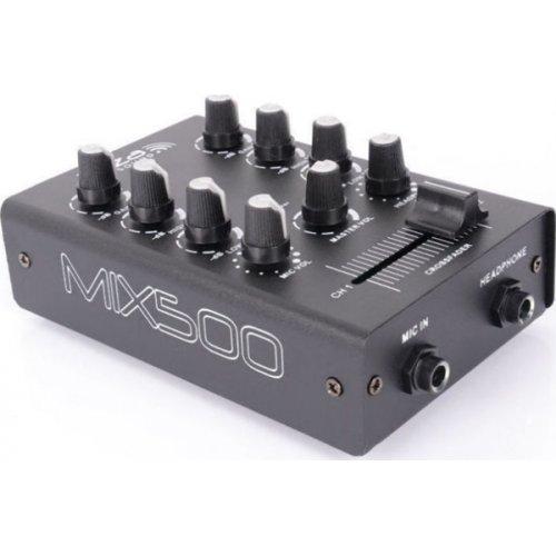 Μίκτης ήχου 2 καναλιών MIX500 Ibiza Sound