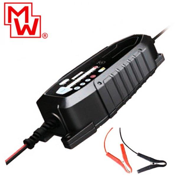 Φορτιστής μπαταριών μολύβδου LiFePO4  6-12V 1.5A DC MW LF-CC015A Minwa