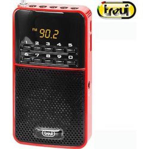 Ραδιόφωνο FM Κόκκινο DR 730 Μ Trevi