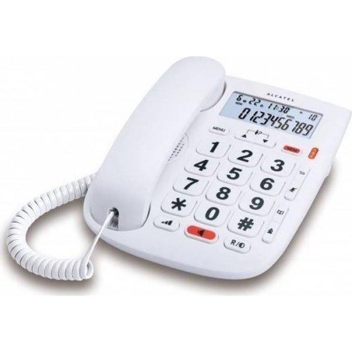 Τηλέφωνο Σταθερό με αναγνώριση κλήσης T MAX 1 άσπρο Alcatel