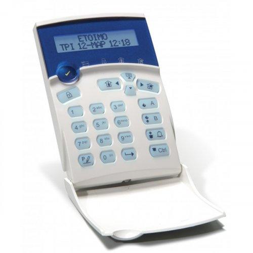 Πληκτρολόγιο με οθόνη LCD CR-16S LCD ST GR/BLUE Crow
