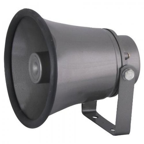 """Κόρνα αλουμινίου με κεφαλή 6,4"""" 10W 100V THT-060"""