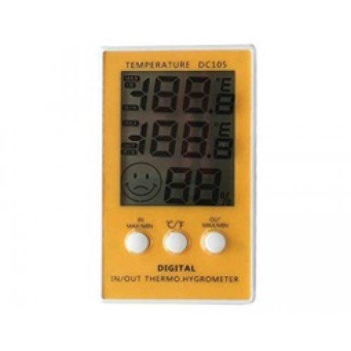 Θερμόμετρο - υγρόμετρο ψηφιακό με αισθητήρα DC-105