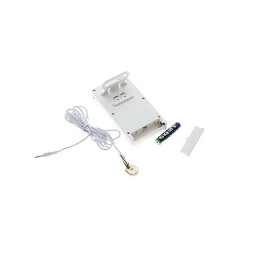 Θερμόμετρο - υγρόμετρο ψηφιακό με αισθητήρα και ημερολόγιο - ξυπνητήρι KT-906