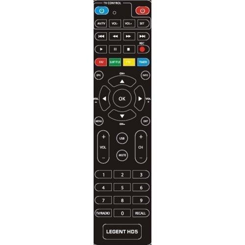 Τηλεχειριστήριο DVB-T legent HD 5