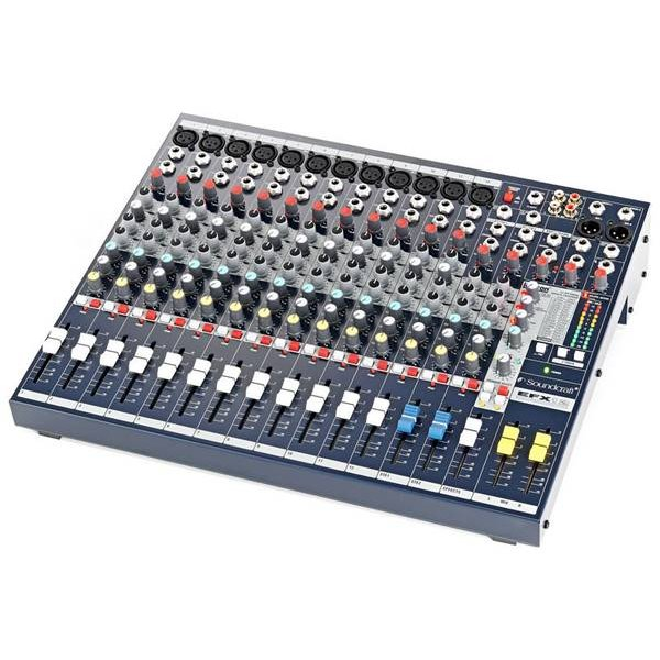 Μίκτης ήχου 12 mono + 2 stereo SPIRIT EFX12 Soundcraft