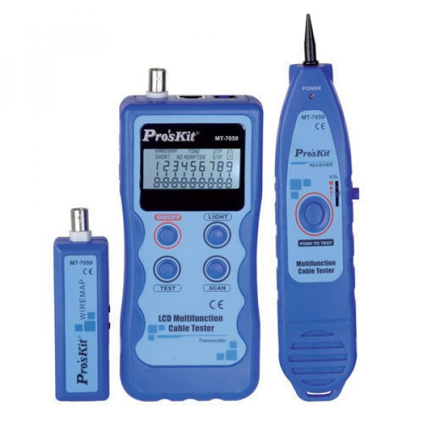 Tester δομημένης καλωδίωσης με γεννήτρια σήματος MT-7059 PROSKIT