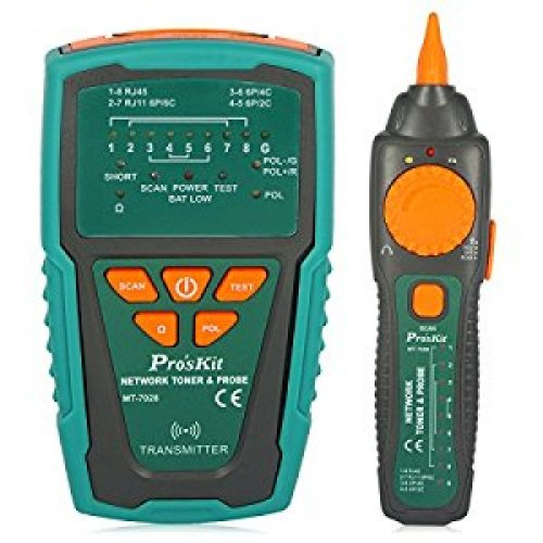 Tester δομημένης καλωδίωσης με γεννήτρια σήματος  MT-7028 PROSKIT