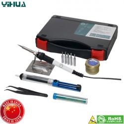 Κολλητήρι 60W 230V σετ κασετίνας αντιστατικό YH-947-II Kit YiHua