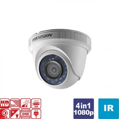 Κάμερα Dome IR 3.6mm IP66 Turbo-HD 1080p DS-2CE56D0T-IRF Hikvision