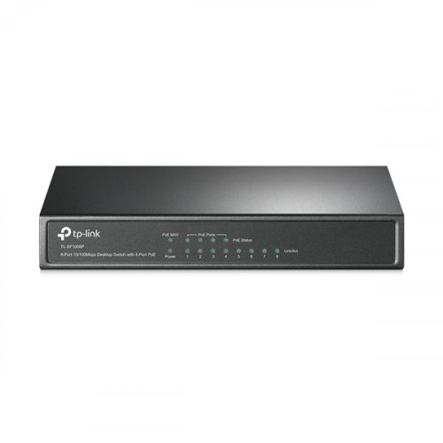 Switch 8-Port 10/100Mbps 4xPoE TL-SF1008P TP-LINK