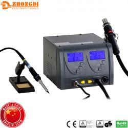 Σταθμός κόλλησης και θερμού αέρα 60W / 320W ZD-912 Zhongdi