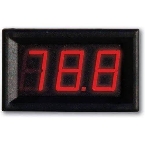 Βολτόμετρο Ψηφιακό 0-100V DC 45x26x21mm VM-0-100V