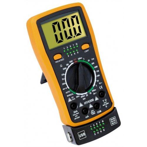 Tester καλωδίων με Πολύμετρο HY-1300