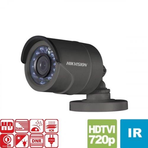 Κάμερα Bullet IR 2,8mm IP66 Turbo-HD 720p Γκρί DS-2CE16C0T-IR 2.8 Hikvision
