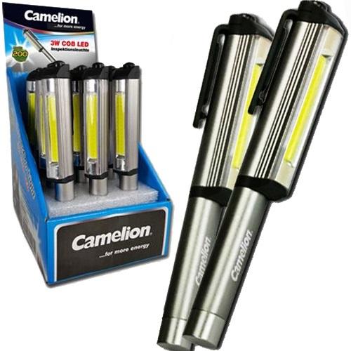 Φακός μαγνητικός LED 3W cob T11 Camelion