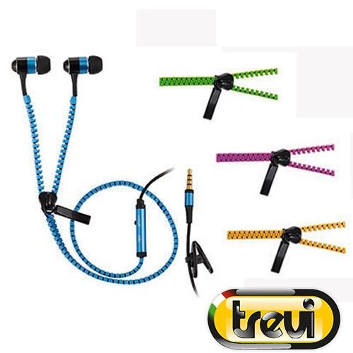 Ακουστικά Στερεοφωνικά Handsfree με Μικρόφωνο σε Διάφορα Χρώματα ZIP 681 Trevi