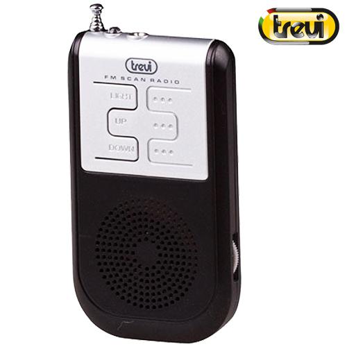 Ραδιόφωνο FM RS 733 Μάυρο Trevi