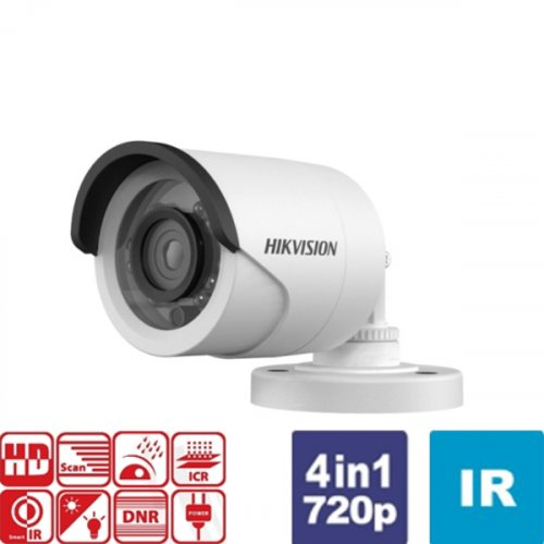 Κάμερα Bullet IR 2.8mm IP66 Turbo-HD 720p DS-2CE16C0T-IRF Hikvision