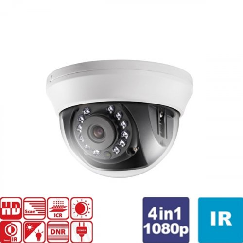 Κάμερα Dome IR 2.8mm Turbo-HD 1080p DS-2CE56D0T-IRMMF Hikvision