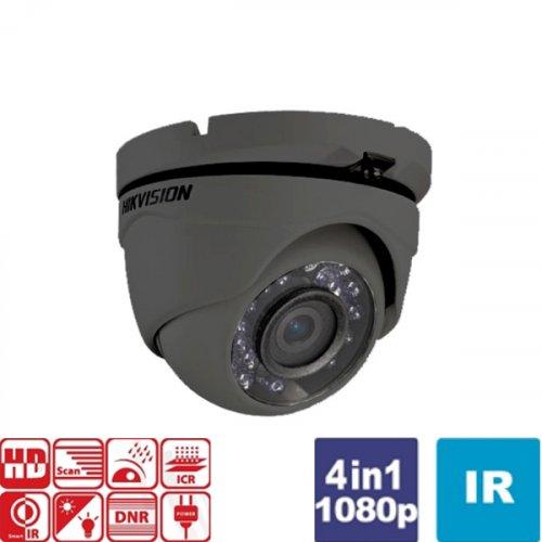 Κάμερα Dome IR 2.8 mm Turbo-HD 1080p Γκρί DS-2CE56D0T-IRMF Hikvision