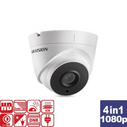 Κάμερα Dome IR 2.8mm IP66 Turbo-HD 1080p DS-2CE56D0T-IT3F Hikvision