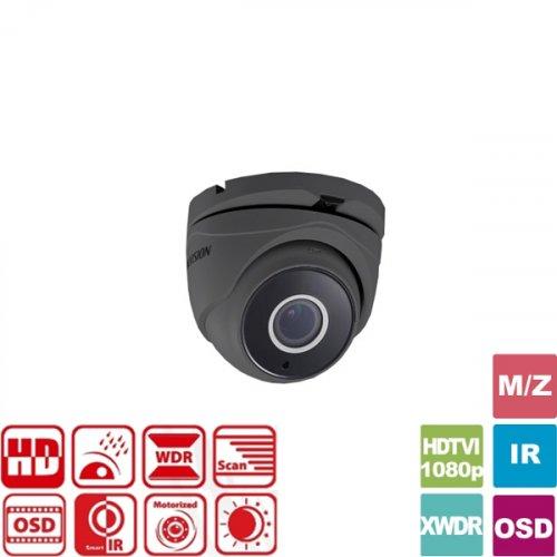 Κάμερα Dome IR 2.8mm IP66 Turbo-HD 1080p Γκρί DS-2CE56D7T-IT3Z Hikvision