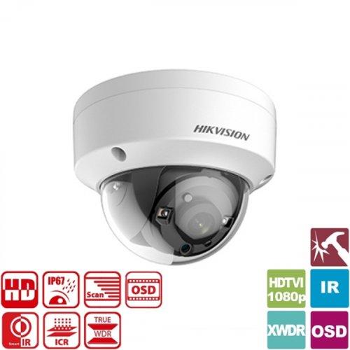 Κάμερα Dome IR 3.6mm IP67 Turbo-HD 1080p DS-2CE56D8T-VPIT Hikvision