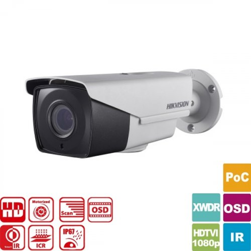 Κάμερα Bullet IR 2.8~12mm IP67 Turbo-HD 1080p DS-2CE16D8T-AIT3ZE Hikvision
