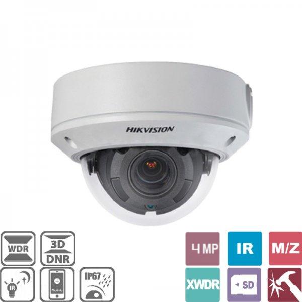 Κάμερα Dome 2.8~12mm IP IP67 4MP DS-2CD1741FWD-IZ Hikvision