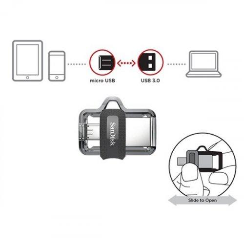 Usb flash drive dual ultra 3.0 SDDD3-064G-G46 64GB SanDisk