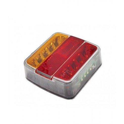 Φανάρι τρέιλερ 4 ενδείξεων 100mm 12V LED