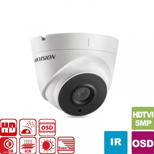 Κάμερα Dome IR 2.8mm IP67 Turbo-HD 5MP DS-2CE56H5T-IT3 Hikvision