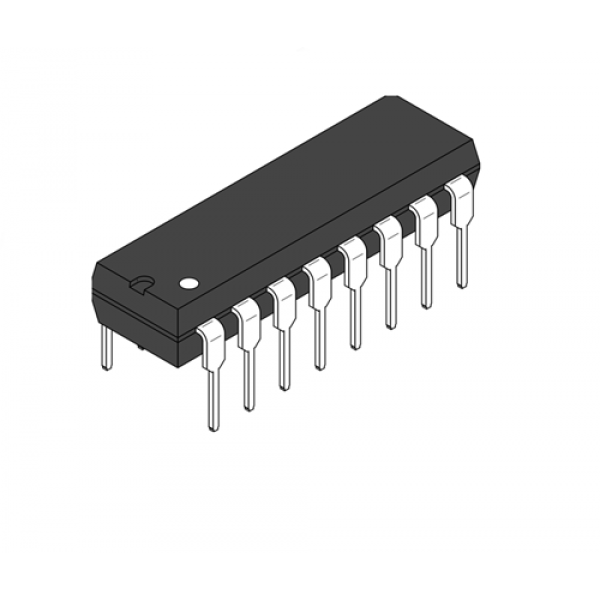 IC Brushed Motor Driver DIL-16 L293D