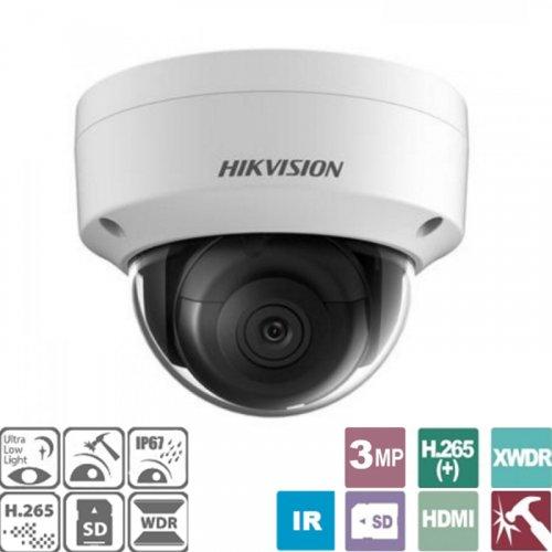 Κάμερα Dome 2.8mm Easy IP 3.0 3MP IP67 DS-2CD2135FWD-I Hikvision