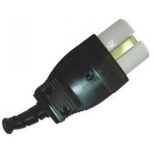 Φις τροφοδοσίας θηλυκό πορσελάνης ψηστιέρας για καλώδιο 3 x1.0mm PA-10CX