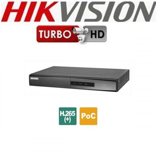 NVR 4 IP καναλιών 4K DS-7604NI-K1/4P Hikvision