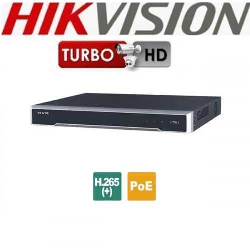 NVR 8 IP καναλιών 4K DS-7608NI-K2/8P Hikvision