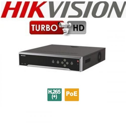 NVR 16 IP καναλιών 4K DS-7716NI-K4/16P Hikvision