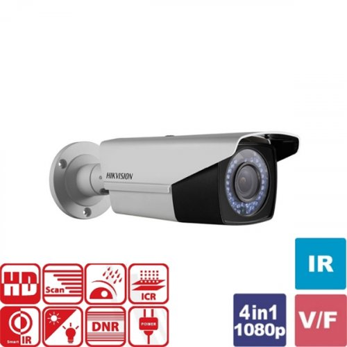 Κάμερα Bullet IR 2.8~12mm IP66 Turbo-HD 720p DS-2CE16C0T-VFIR3F Hikvision