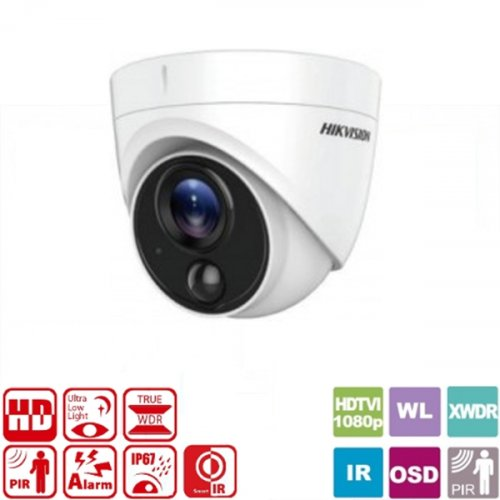 Κάμερα Dome IR 2.8mm IP67 1080p DS-2CE71D8T-PIRL Hikvision