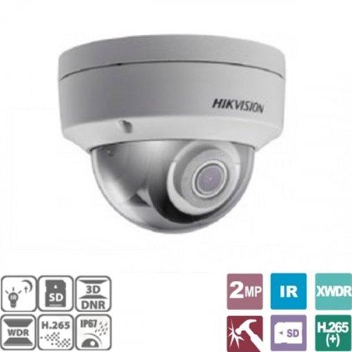 Κάμερα Dome 2.8mm 2MP IP67 DS-2CD2123G0-I Hikvision