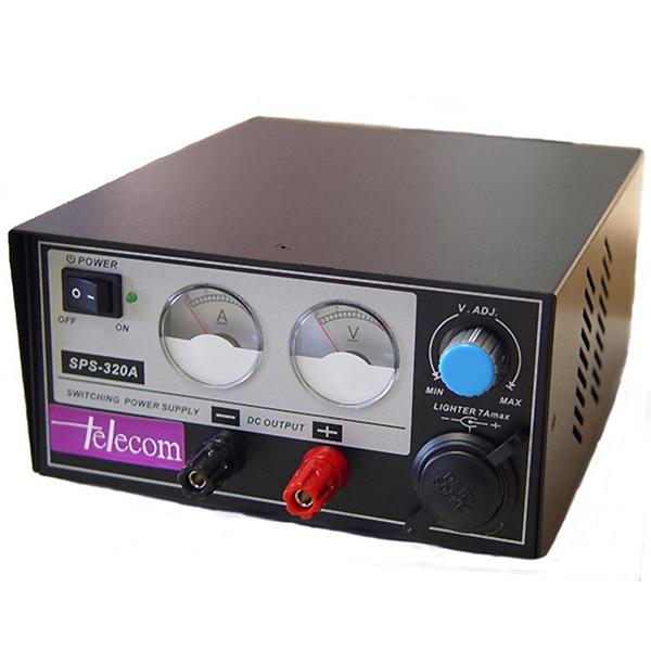 Τροφοδοτικό πάγκου 230V->9-15VDC 28A ρυθμιζόμενο switching SPS-320A Τelecom
