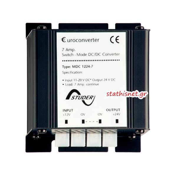 Converter 12V DC IN->OUT 24VDC 7A MDC-1224-7 Studer
