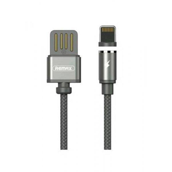 Καλώδιο φόρτισης USB A -> lightning μαγνητικό 1m 1A ασημί RC-095i Remax