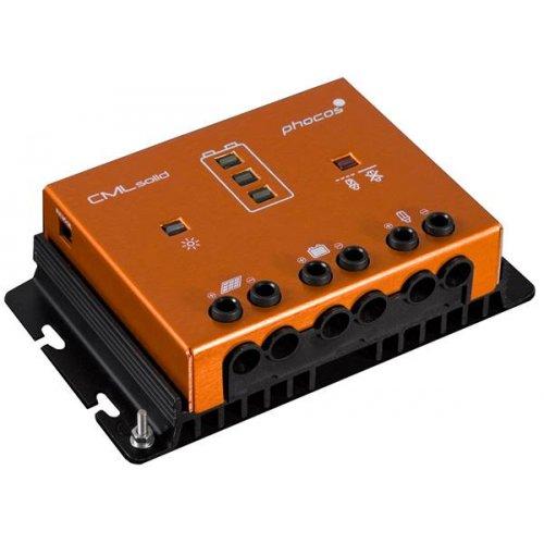 Ρυθμιστής φόρτισης 12V-24V 30Α CMLSolid 30 PHOCOS