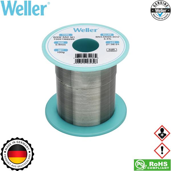 Κόλληση 100gr 0,5mm WSW SAC M1 T0051388299 Weller