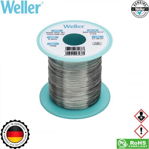 Κόλληση 100gr 0,3mm WSW SAC M1 T0051388199 Weller