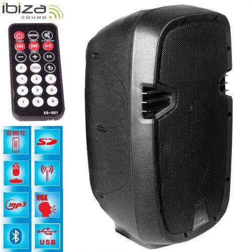 Αυτόνομο Σύστημα Ηχου Bluetooth 300W HYBRID8VHF-BT Ibiza Sound