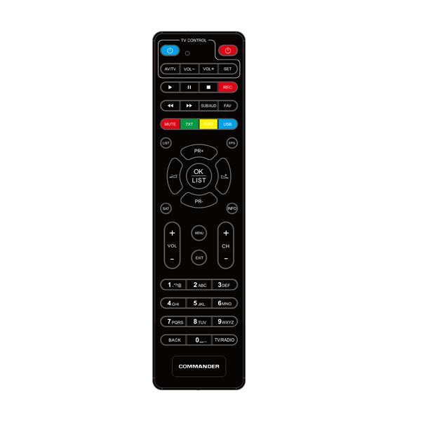 Τηλεχειριστήριο DVB-S2 HD 9000-9100-9500 Commander